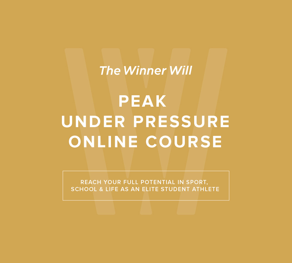 The Winner Will – Peak Under Pressure Online Course